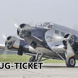 Flug-Ticket Ju 52